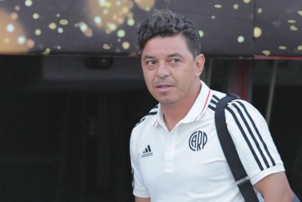 El director técnico de River Plate, Marcelo Gallardo. Foto: REUTERS/Guadalupe Pardo