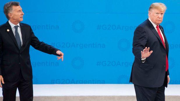 Donald Trump y un desplante al Presidente Argentino Mauricio Macri, que se hizo notar en todo el mundo en el marco del G20 (Manuel Cortina)