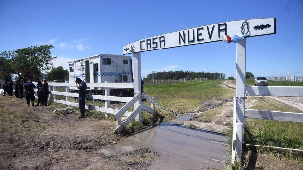Campo familia etchevehere desalojo - Entre rios - Juan Grabois