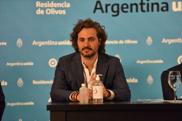 Conferencia de prensa Alberto Fernandez coronavirusolivos COVID 19 10 abril
