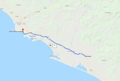 La pareja se encontraba a 50 minutos de su destino cuando fueron asesinados por la Policía Comunitaria del municipio de Petattlán, Guerrero (Foto: Google Maps)