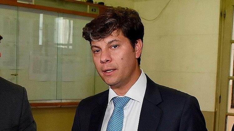 Santiago Inchausti, juez del caso (Nicolás Stulberg)