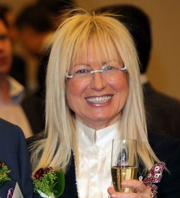 Miriam Adelson (AFP)