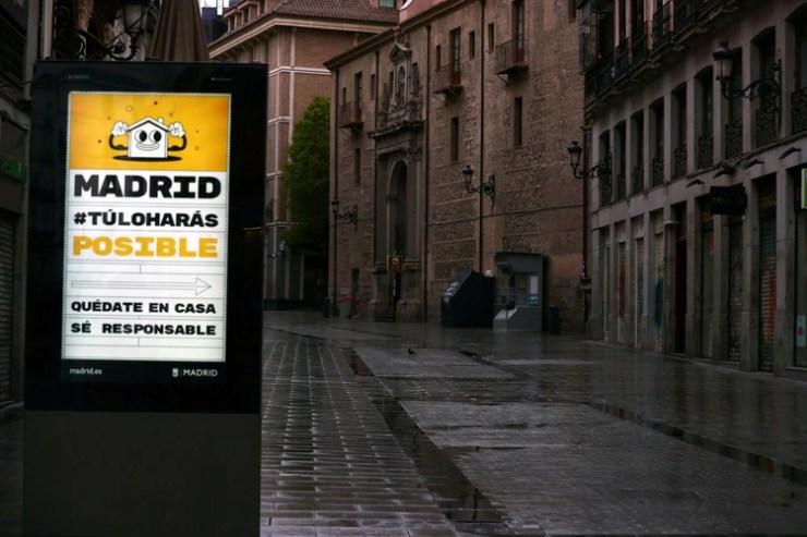 Madrid es la región más afectada por el coronavirus en España (REUTERS/Sergio Perez)