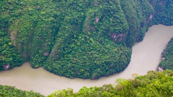 The Sumidero Canyon is an emblem of Tuxtla Gutiérrez (Photo: Cuartoscuro)