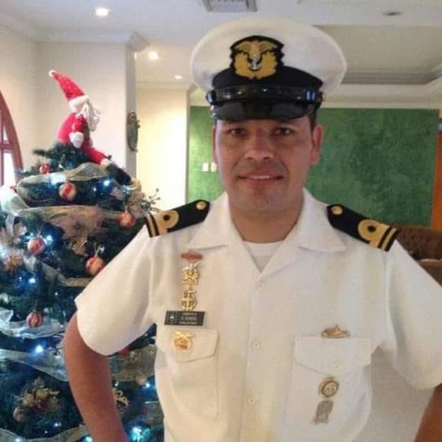 El excapitán de la Armada Nacional, Raúl Romero Pabón.