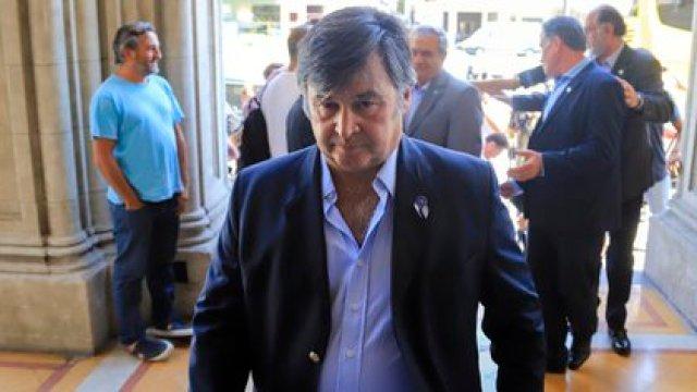 Críticas del presidente de la Sociedad Rural Argentina, Daniel Pelegrina, al cierre de las exportaciones de maíz  FOTO: Juan Vargas