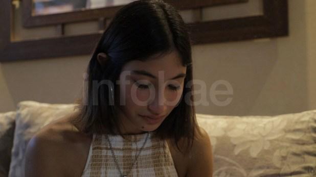 Julieta Rossi recibió a Infobae en su casa en el barrio de Caballito