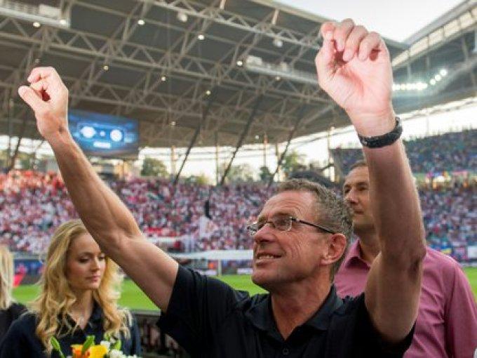 Ralf Rangnick jugó un papel crucial para los éxitos del RB Leipzig como director deportivo y también como entrenador (AFP)