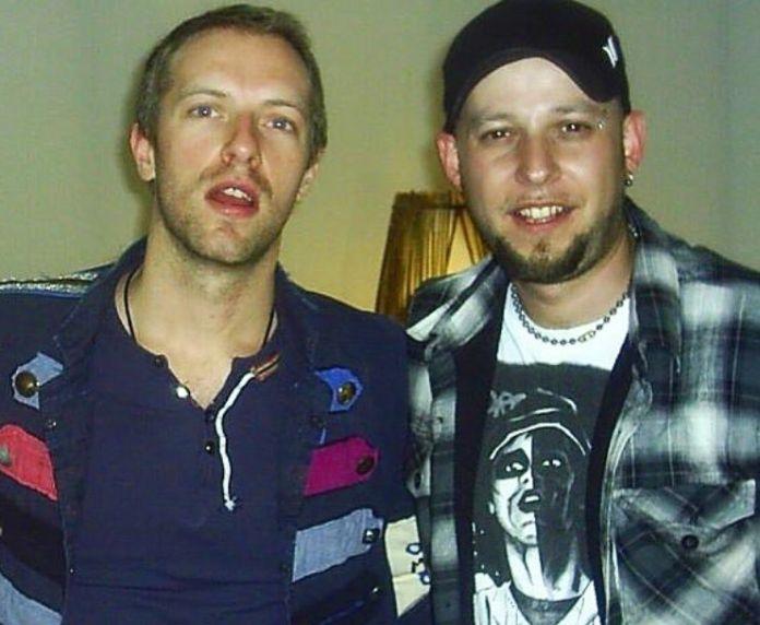 Con Chris Martin (IG: soyclaudiotv)
