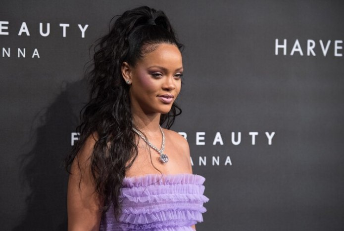 Rihanna en el lanzamiento de 'FENTY Beauty' en Londres (Photo by Chris J Ratcliffe/Getty Images)