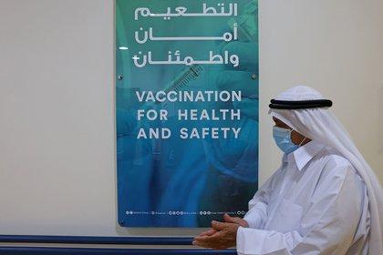 Emiratos Árabes Unidos aplicó más de seis millones de dosis de la vacuna contra el coronavirus (Giuseppe Cacace/AFP/Getty Images)