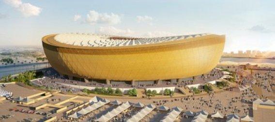 Así será el estadio Lusail, ubicado al norte de Doha que aún está en construcción (Reuters)