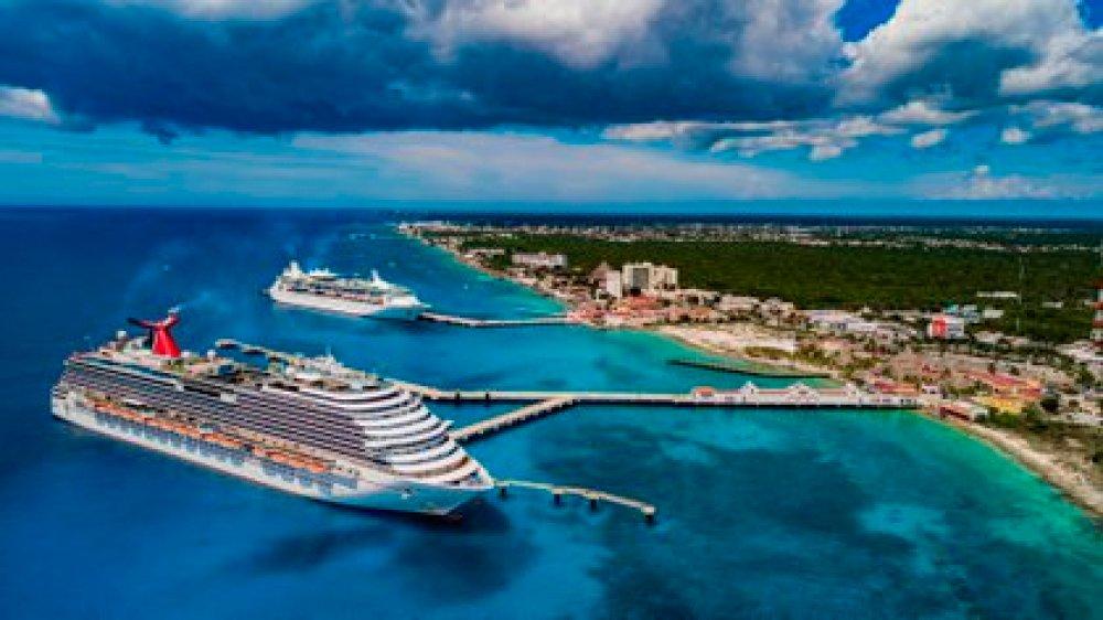Un crucero en la isla de Cozumel (EFE)