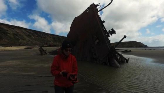 La exploradora Dolores Elkin busca revelar el misterio del Purísima Concepción