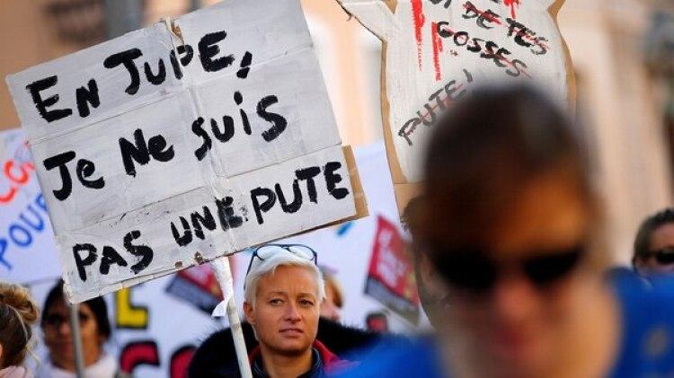 Miles de personas se manifestaron en varias ciudades de Europa contra la violencia de género (Reuters)
