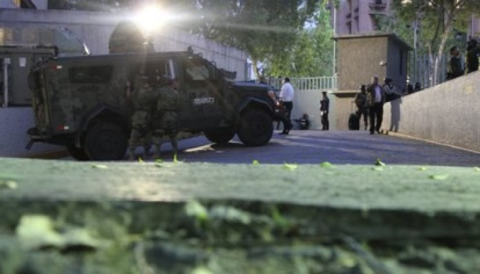Tamulipas has been ravaged by violence.  The photograph shows an operation in which Mario Armando Treviño, leader of the CDG, was arrested (Photo: Cuartoscuro)