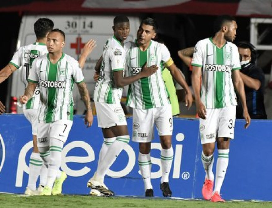 Jefferson Duque, appears in the match between América de Cali and Atlético Nacional / (Twitter: @Dimayor).