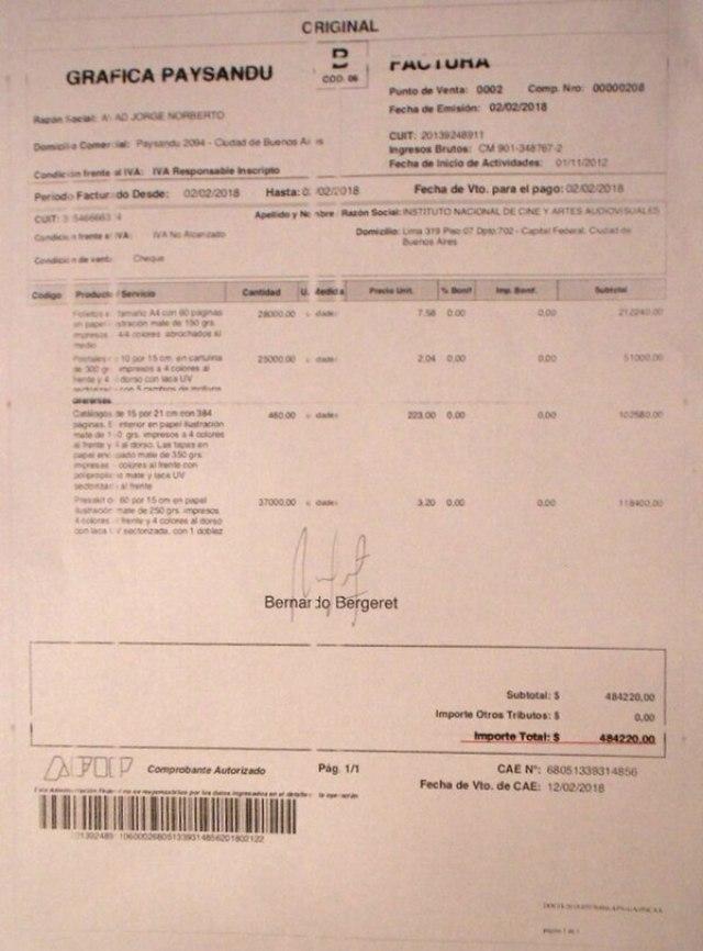 Para evitar las licitaciones, las compras se hacían por montos inferiores a los $500.000