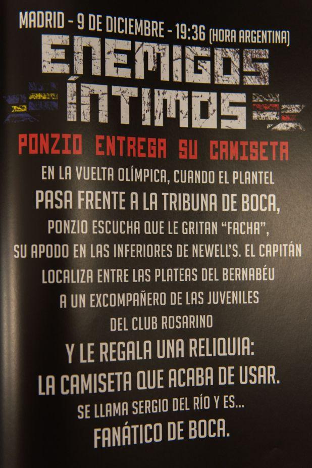La anécdota de Ponzio con un fanático de Boca en Madrid (Adrián Escandar)