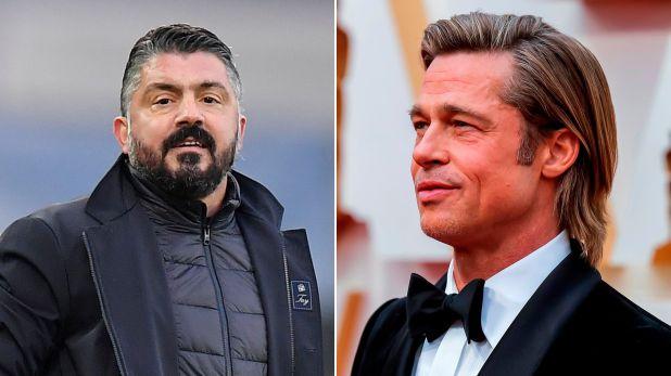 Gennaro Gattuso Brad Pitt