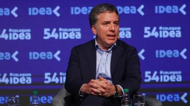 El ministro Nicolás Dujovne(Christian Heit)