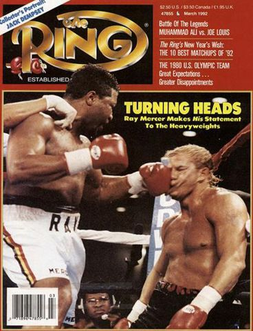 Portada The Ring Tommy Morrison vs. Ray Mercer