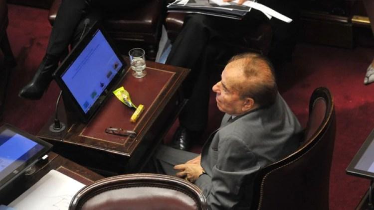 Carlos Menem estuvo presente