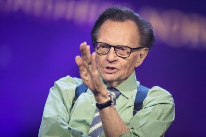 Larry King murió a los 87 años (Michael Campanella/Getty Images)