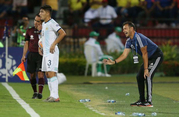 La Argentina consiguió el boleto a los JJOO en el Preolímpico que se disputó este año en Colombia (REUTERS)