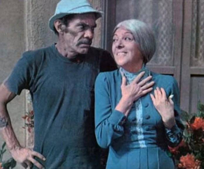 """""""Don Ramón"""", la """"Bruja del 71""""durante la famosa serie mexicana (Foto Archivo)"""