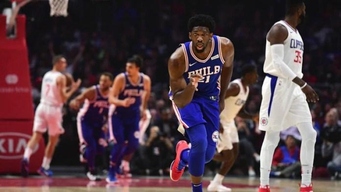 Joel Embiid es una de las figuras delos Philadelphia 76ers (Photo by Harry How/Getty Images)