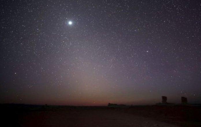 Foto de archivo ilustrativa del planeta Venus visto desde Egipto.  May 15, 2015. REUTERS/Amr Abdallah Dalsh