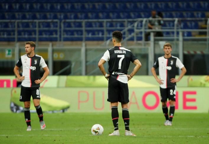 La Juventus sigue siendo líder de la Serie A con siete puntos de ventaja sobre Lazio a falta de siete jornadas para el final (Reuters)