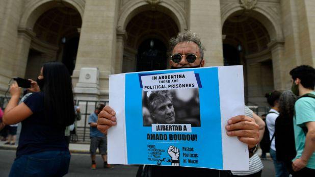 Marcha tribunales Boudou Preso