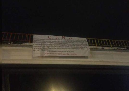 El CJNG se atribuyó la aparición de 19 cuerpos colgados en un puente en Uruapan (Foto: Archivo)