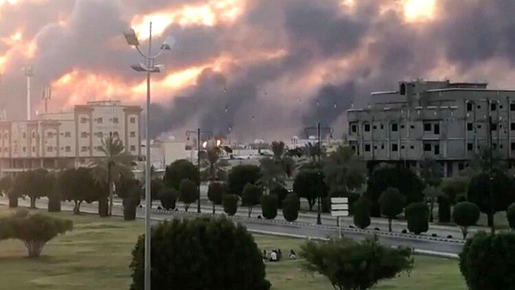 Dos refinerías de la petrolera Armaco fueron atacadas el sábado (Reuters)