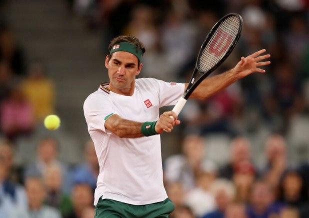 En el 2020 Federer solo disputó el Abierto de Australia (REUTERS/Mike Hutchings)