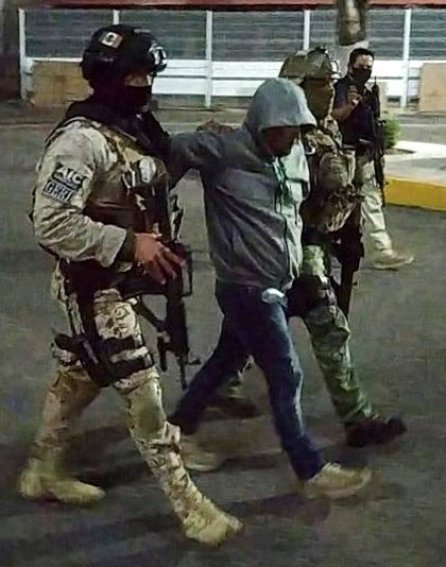 "José Antonio Yepez, known as ""the Brown"", was captured on August 2 in the town of Franco Tavera, in Guanajuato, (Photo: Office of the Attorney General of Guanajuato / VIA REUTERS)"