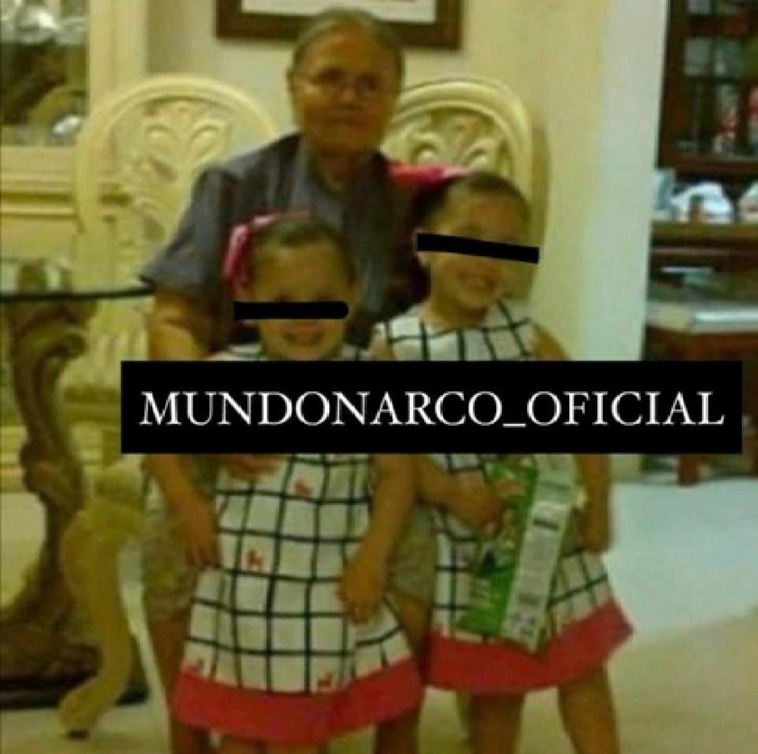 La madre del Chapo con sus nietas (Foto: Mundonarco_oficial)