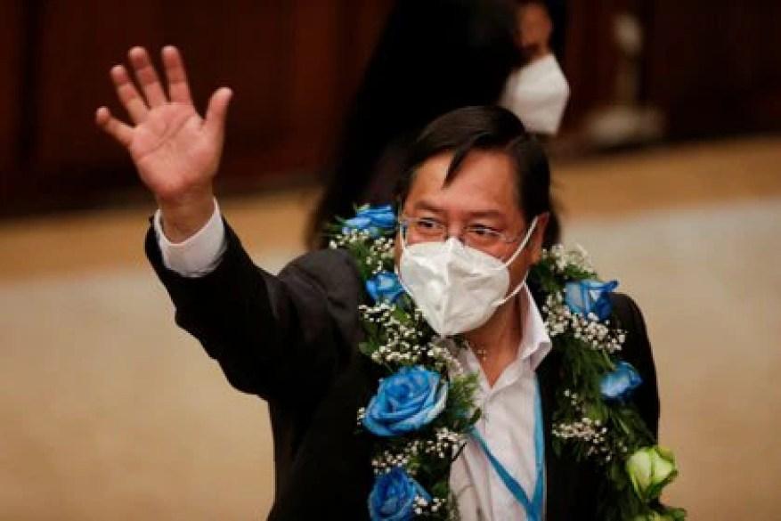 Luis Arce wird am 8. November die Präsidentschaft Boliviens übernehmen (REUTERS / David Mercado)