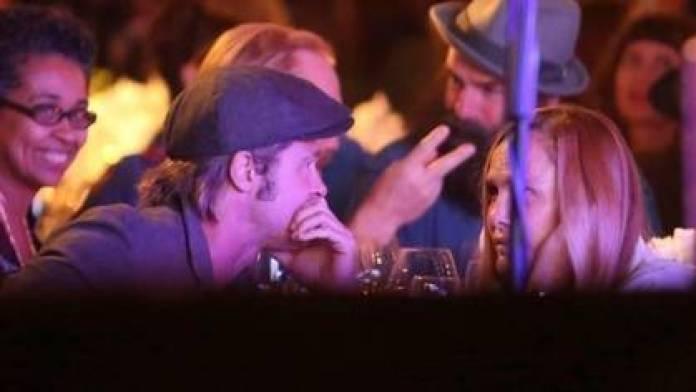 Brad Pitt and Sat Hari Khalsa (Grosby Group)