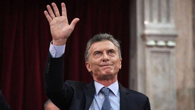 Mauricio Macri en la apertura de sesiones ordinarias (Foto: Comunicacion Senado)