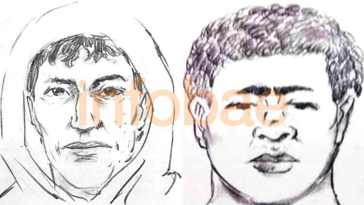 El identikit que armaron las autoridades policiales en base al relato de la víctima.