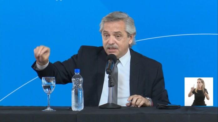 Alberto Fernández habló desde Tucumán sobre la vacuna rusa Sputnik V