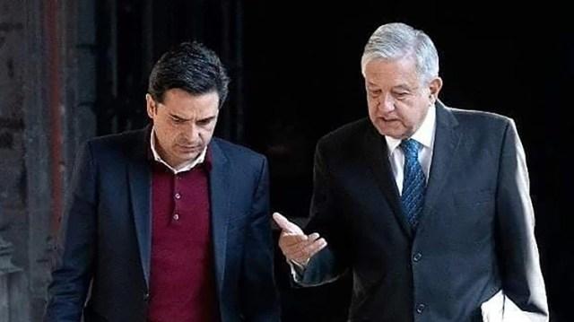 Zoé Robledo y Andrés Manuel López Obrador (Foto: Facebook/Zoé Robledo)