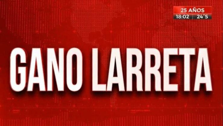 Placas crónica elecciones presidenciales (Foto captura: Crónica TV)