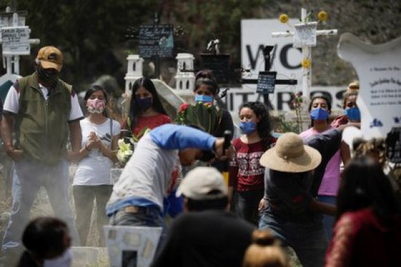 The coronavirus continues to advance in Mexico (Photo: Reuters / Luis Cortes)