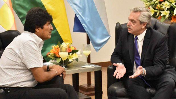 Evo Morales Alberto Fernández