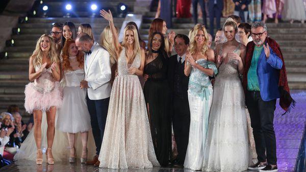 Saludo final del Mar del Plata Moda Show (Christian Heit)